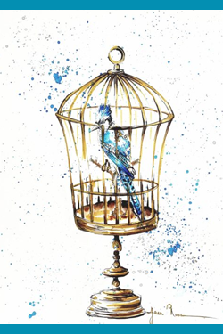 Theatrale wandeling 'Een blauwe vogel'